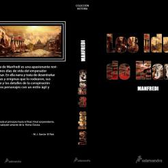 Couverture d'un roman, Maquettage et réalisation. Fait sur photoshop.