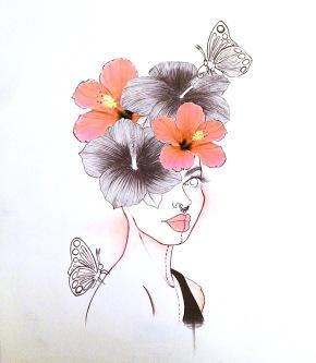 Technique: Stylo, crayon et digital. Taille: 21x27'7 cm