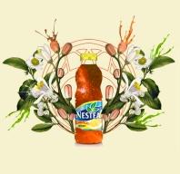 Conception pour une publicité pour Nestea, faite par moi-même